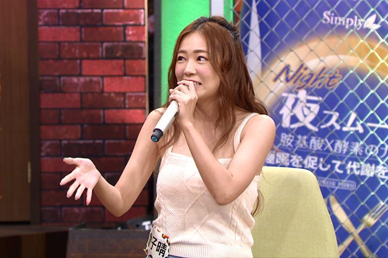 【車勢星聞】詹子晴副業多,一天只睡3小時。(圖:TVBS提供)