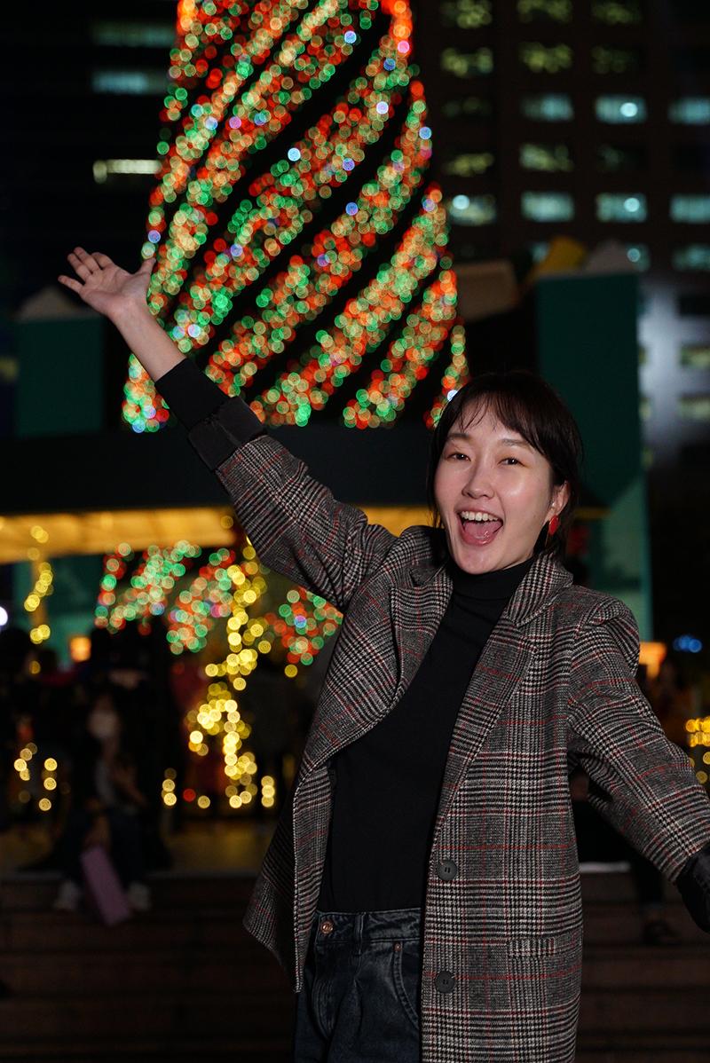 【車勢星聞】巴鈺戲稱自己是《食尚玩家瘋狂總部》的大姨媽。(圖:TVBS提供)