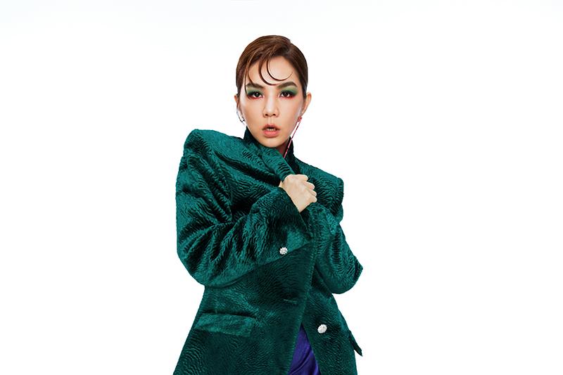 【車勢星聞】Ella陳嘉樺獨家港都跨年,將率領八位舞者壓軸唱跳。(圖:民視提供)