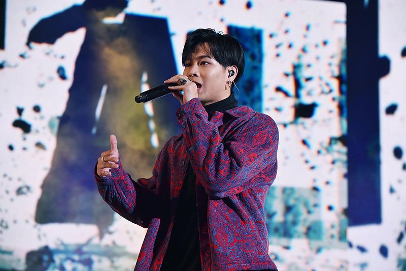 【車勢星聞】高爾宣新北耶誕城首唱新歌《Do it all again》。(圖:TVBS提供)