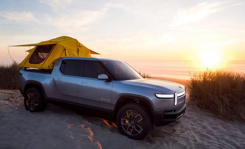 因選購R1T或R1S車主經常會露營和划船等戶外活動,因此才決定將充電設備建構於相關場地。