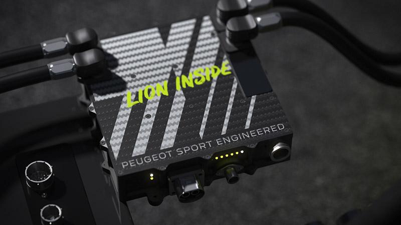 高密度鋰電池是由Peugeot Sport與Total旗下子公司Saft共同開發。