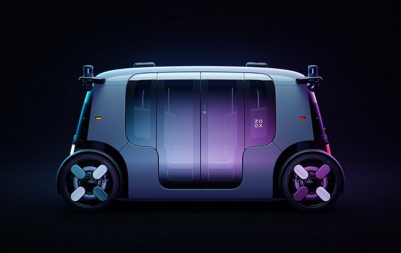 Amazon日前展示無人駕駛電動robotaxi。