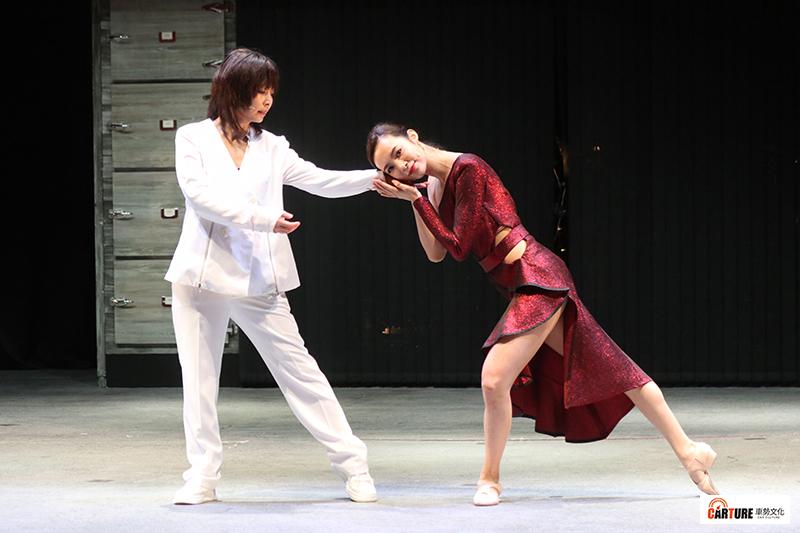 【車勢星聞】全新音樂劇《你好,我是接體員》主要演員由林曉培(左起)、康茵茵。