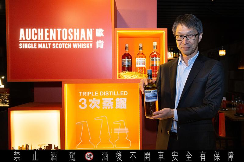 【車勢品酒】台灣三得利總經理長江淳。(圖:品牌提供)