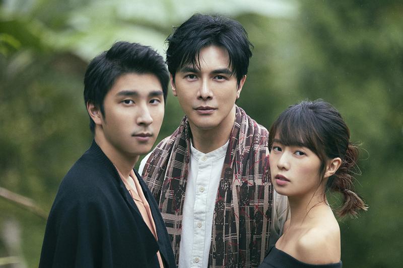 【車勢星聞】《藝和創藝》藝人胡釋安(左起)、謝佳見、簡廷芮。(圖:藝和創藝提供)