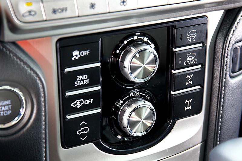 Land Crusier Prado的越野系統模組提供豐富的車輛控制選項