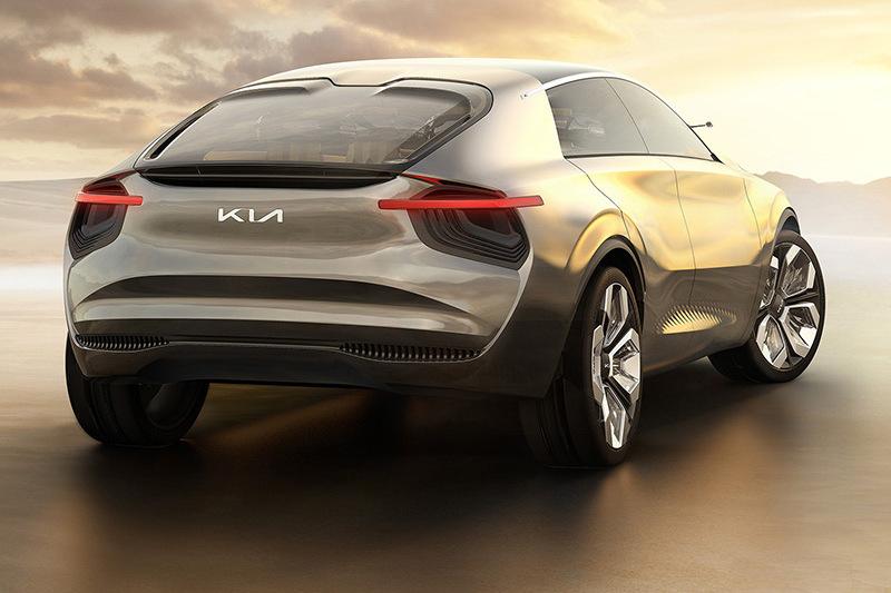 2019年日內瓦車展Kia所展出的概念車Imagine by Kia就已使用新廠徽。
