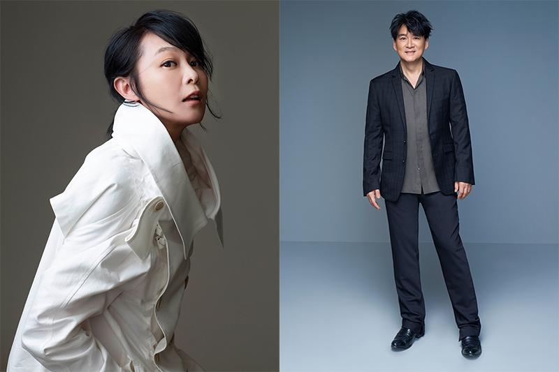 【車勢星聞】周華健(左起)、劉若英登《2021超級巨星紅白藝能大賞》。(圖:台視提供)