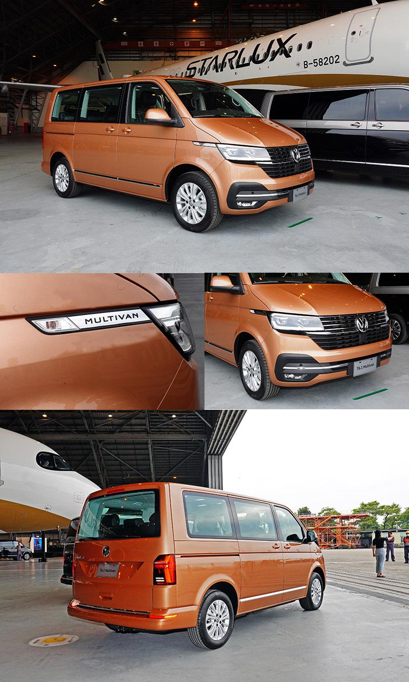 T6.1 Multivan全車系提供10款車色選擇。