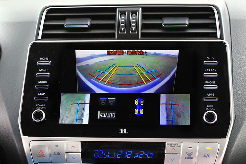 可監控周邊環境與底盤透視的MTM智慧型越野顯示幕與PVM環景影像輔助系統,讓路況掌握更加輕鬆簡明。