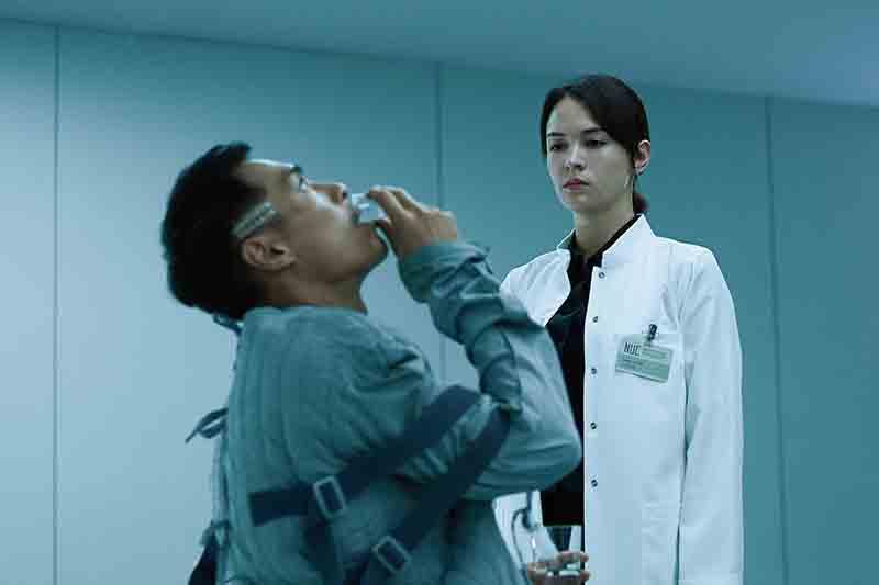 【車勢星聞】張榕容揭露楊祐寧在電影《複身犯》的怪物之謎。(圖: 牽猴子提供)