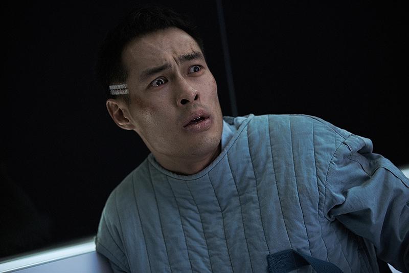 【車勢星聞】電影《複身犯》五名嫌疑犯的人格,共存在楊祐寧的身體。(圖: 牽猴子提供)