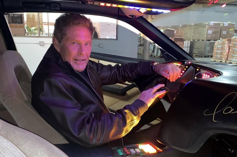 飾演李麥克的David Hasselhoff日前將當年劇中霹靂車進行拍賣。