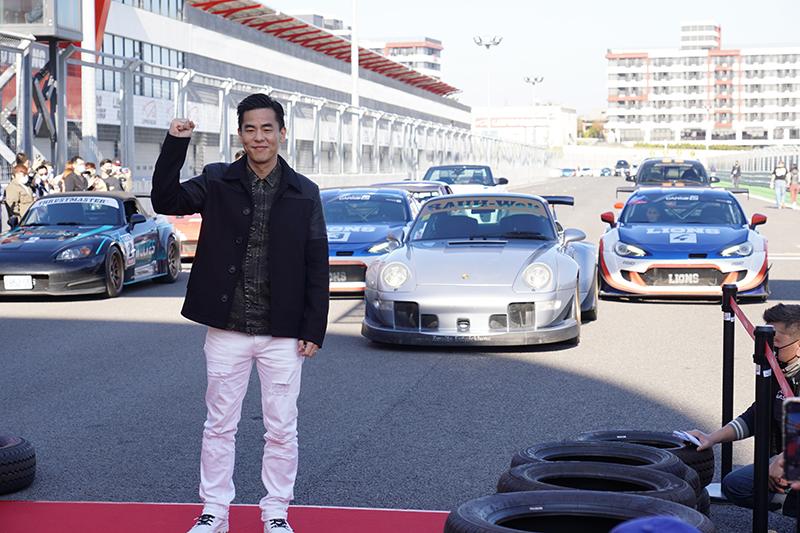 【車勢星聞】賽車電影《叱咤風雲》主要演員柯有倫。