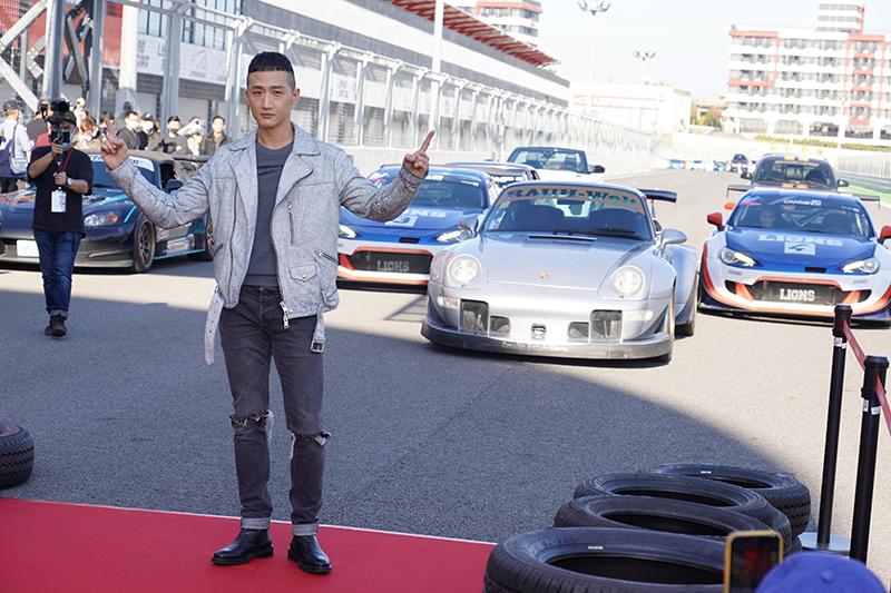 【車勢星聞】賽車電影《叱咤風雲》主要演員高英軒。