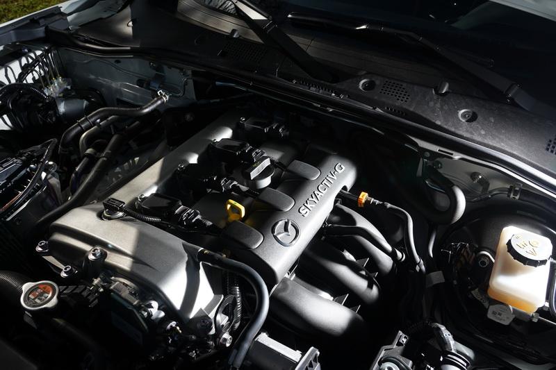動力為升級版的2.0升SKYACTIV-G 自然進氣引擎