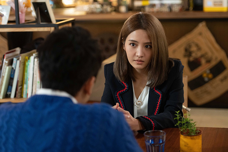 【車勢星聞】李宣榕回歸《女力報到-好運到》竟對王建復喊分手。(圖:TVBS提供)