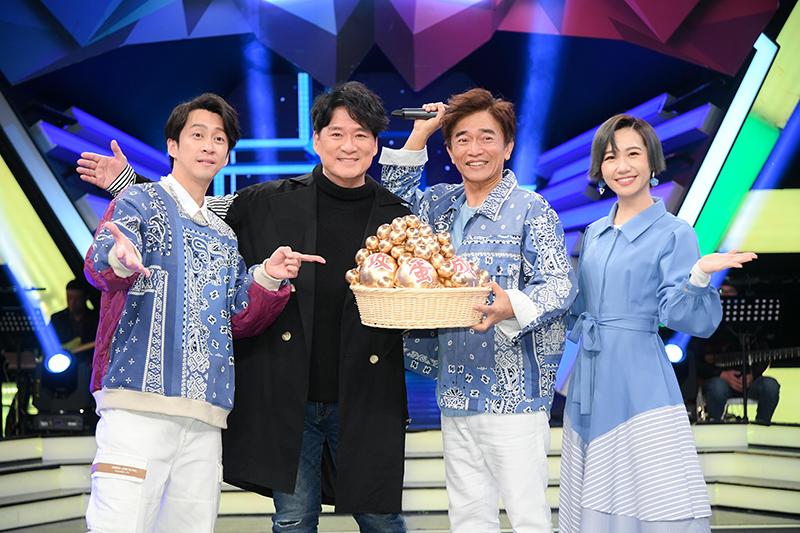【車勢星聞】睽違多年未在台灣節目露臉的周華健上《綜藝大熱門》為演唱會宣傳。(圖:三立提供)