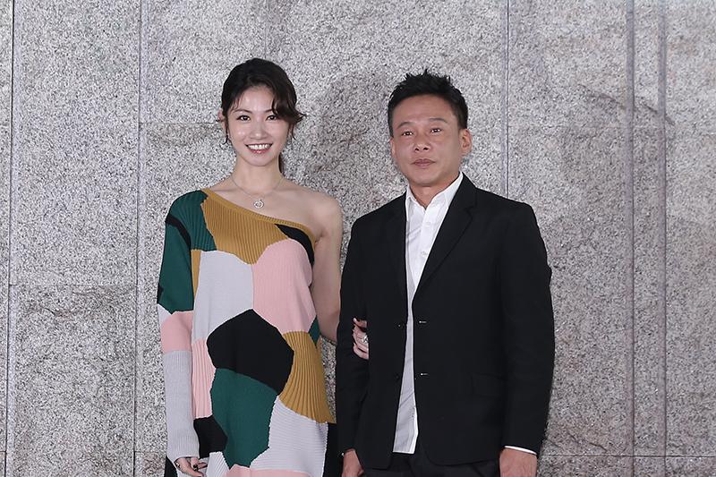 【車勢星聞】電影《山中森林》主要演員(左起)李千那、李康生。(圖:禾力文創提供)
