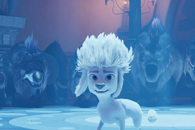 【車勢星聞】動畫片《100%小狼人》2月上映,陪大小朋友歡喜過年。(圖:華映娛樂提供)