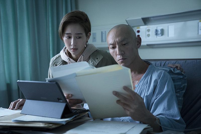 【車勢星聞】電影《緝魂》主要演員張震(右)。(圖:威視提供)