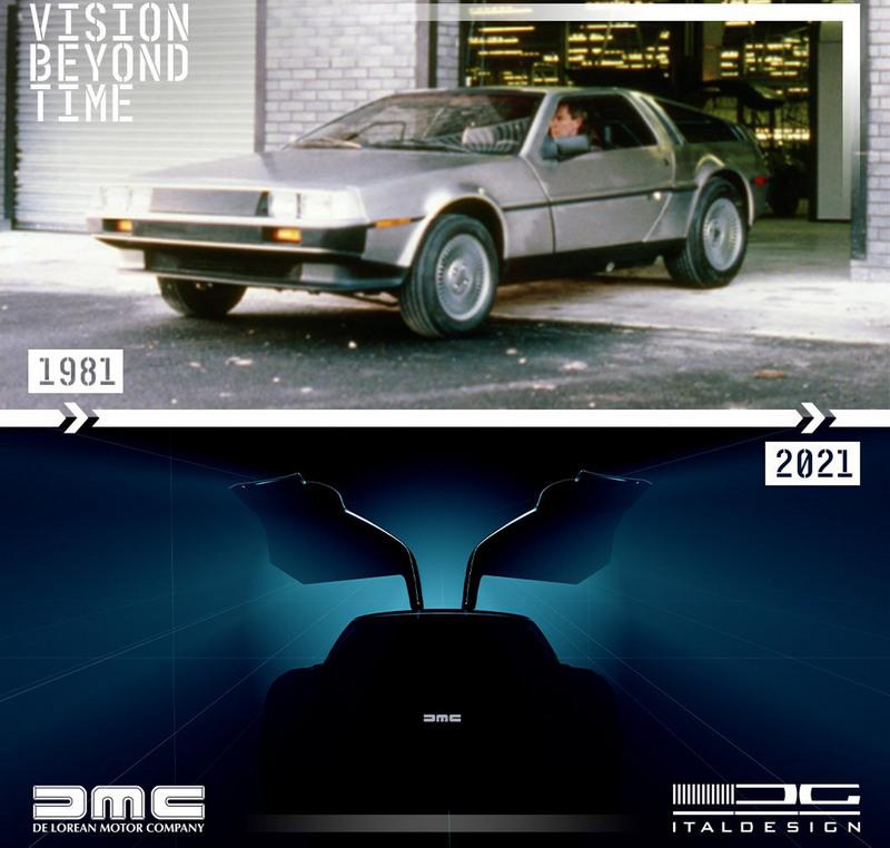 日前Italdesign釋出一組DMC-12圖片,讓人聯想是否在暗示要推出DMC-12。