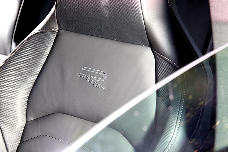 330 TSI R-Line車型配置Nappa Carbon碳纖維紋真皮跑車座椅。