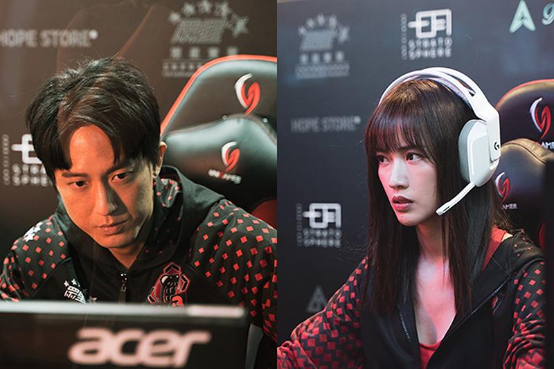 【車勢星聞】《競技青春》主要演員梁以辰(右起)、邱昊奇。(圖:東森提供)