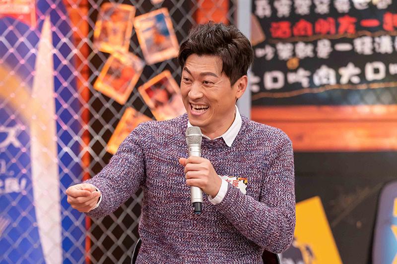 【車勢星聞】藝人侯昌明上TVBS 歡樂台42台《11點熱吵店》。(圖:TVBS提供)