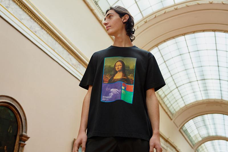 Uniqlo男裝Louvre Museum UT(短袖) NT$590。(圖:品牌提供)