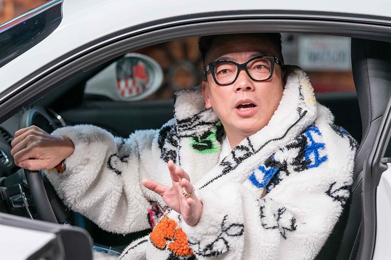 【車勢星聞】《地球黃金線》邀請詹惟中分享買車開運必勝攻略。(圖:TVBS提供)
