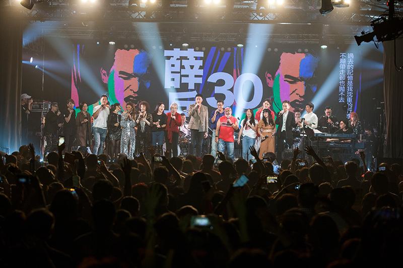 【車勢星聞】《薛岳30紀念演唱會》2/13公視獨家記錄播出。(圖:公視提供)