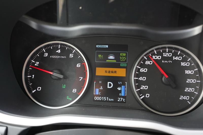 不過車道偏移時系統仍會以警示圖樣與聲響提醒駕駛