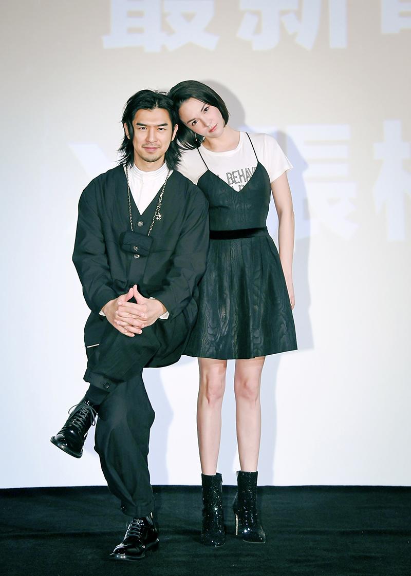 【車勢星聞】《鬼才之道》主角陳柏霖(左)與張榕容(右)。(圖:牽猴子提供)