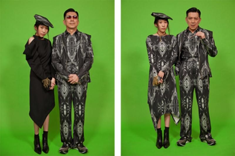 Jenn Lee 21FW攜手金馬特效團隊、邀高捷父女登倫敦時裝周。(圖:品牌提供)