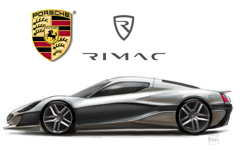 Porsche透過將Rimac持股增加至49%,好讓Rimac有能力購入Bugatti。