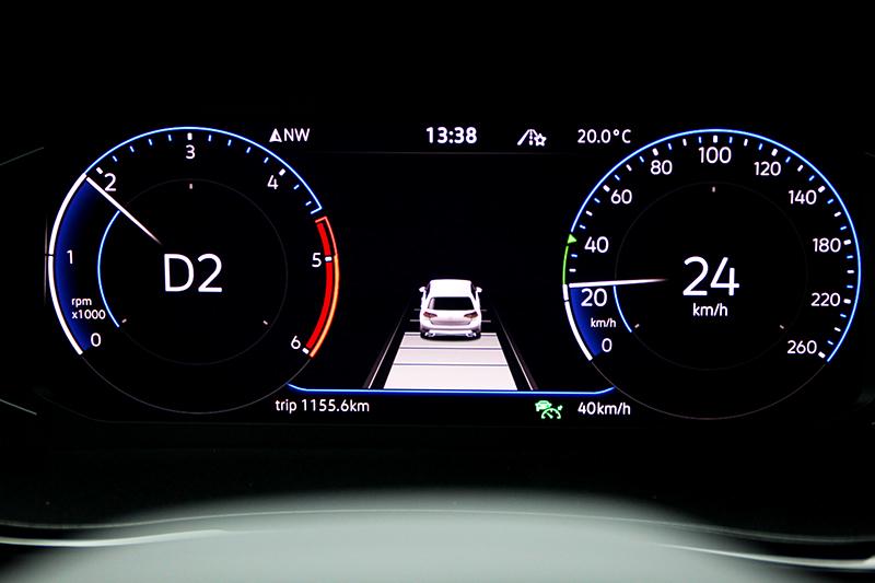 T6.1 Multivan提供Level 2半自動駕駛功能。