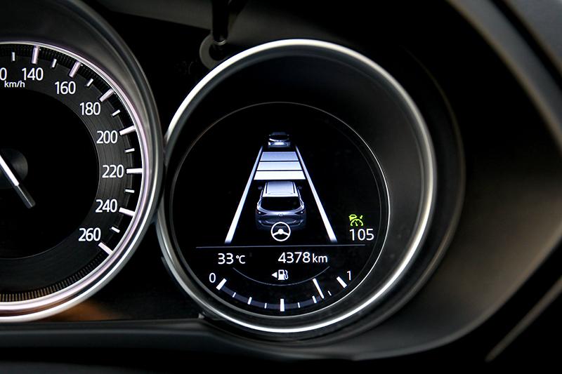 全速域主動車距控制巡航是高速行駛好幫手。