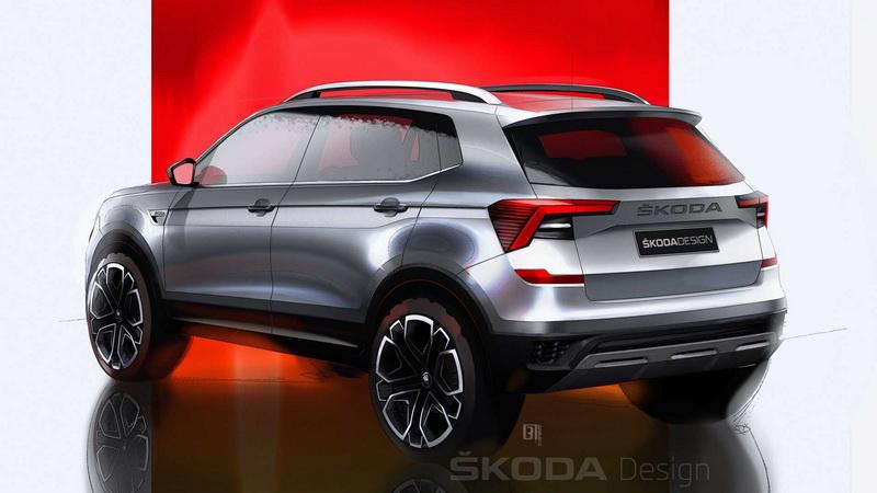 Kushaq外觀設計與Vision IN概念車相去不遠。