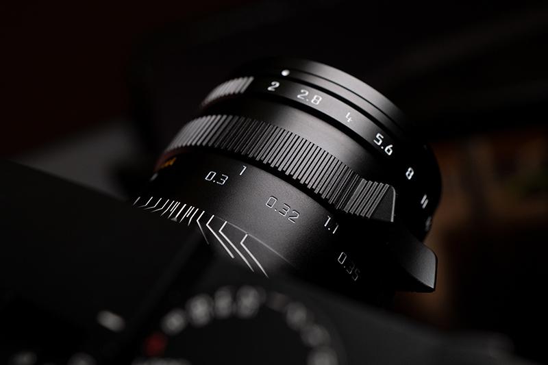 徠卡APO-Summicron-M 35 f/2 ASPH.鏡頭建立嶄新標竿,建議售價243,000。(圖:徠卡提供)