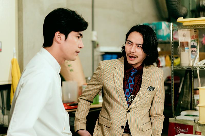 【車勢星聞】《天巡者》主要演員楊銘威(右)。(圖:三立提供)