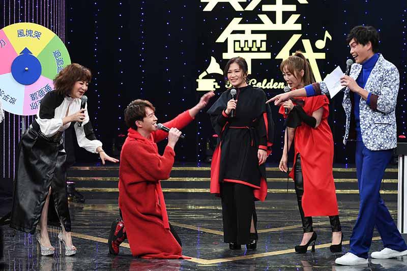 【車勢星聞】歌后黃妃帶師弟妹李子森、安苡葳上《黃金年代》展默契。(圖:華視提供)