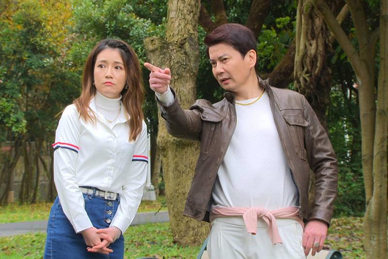 倪齊民加入《多情城市》,是郭亞棠的「鳳梨叔叔」。(圖:民視提供)
