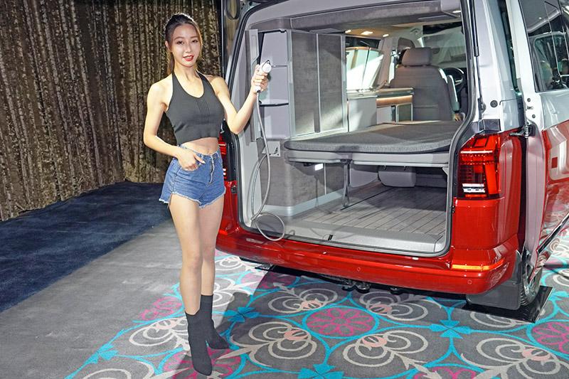 車尾還附有「外接式沖洗裝置」。