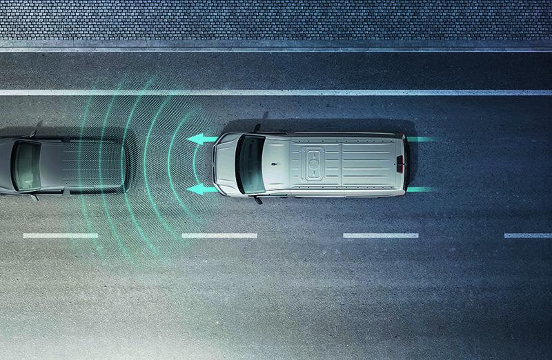 全車系皆搭載全速域ACC主動式車距調節巡航系統。