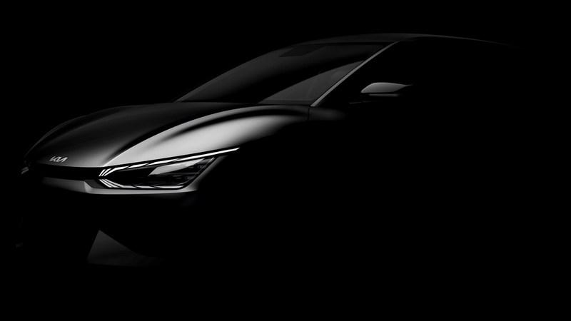 Kia日前進一步釋出新世代電動車輪廓圖。