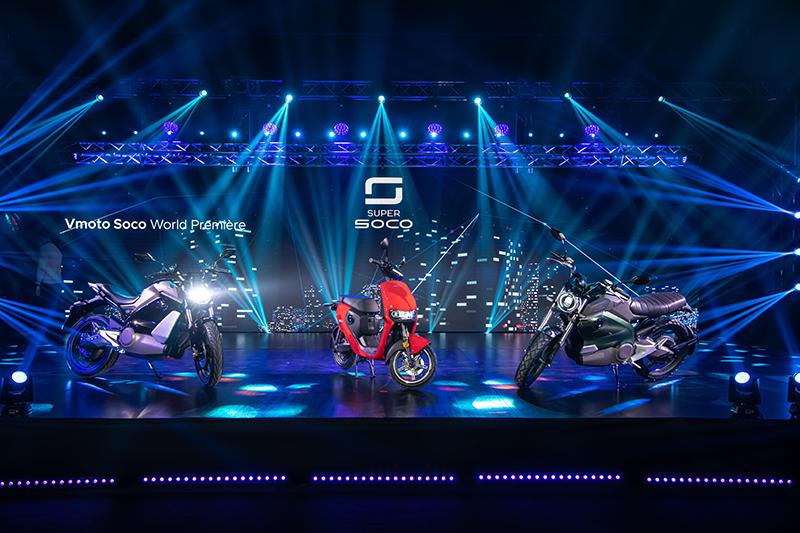 Super Soco米蘭發表TS、TC預計2021第三季量產引進,台灣市場先推RV-CPX、VS1。(圖:品牌提供)