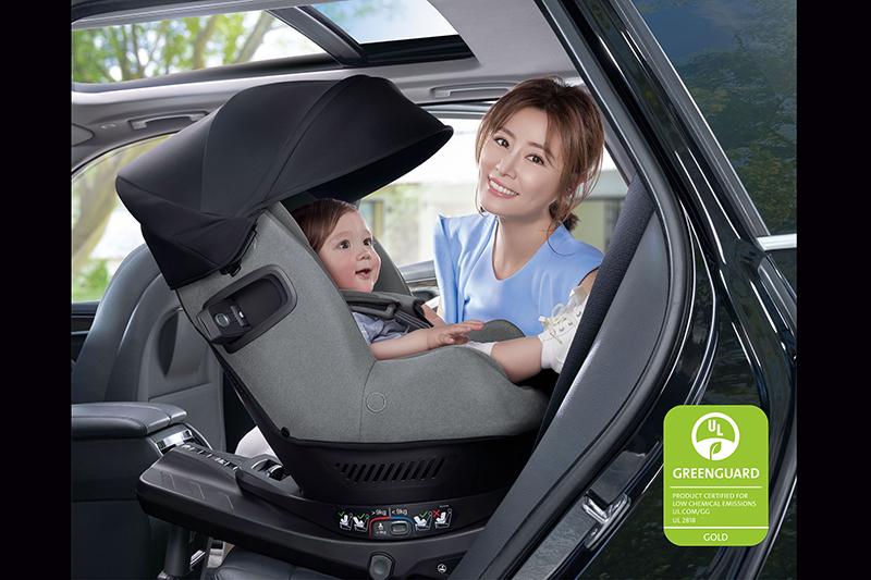 嬰童精品品牌Nuna再度通過Greenguard綠色衛士的金級認證。(圖:品牌提供)