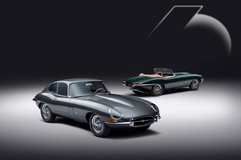 Jaguar為慶賀E-type 60週年推出E-Type 60Edition。